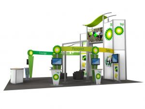 RE-9029 / BP Trade Show Rental Display -- Image 1