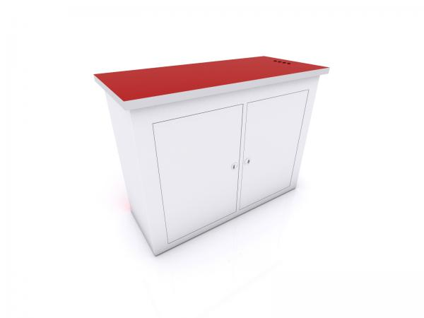 MOD-1556C Tradeshow Display Counter with Charging Ports -- Image 3