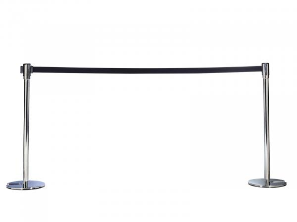 Stanchion with Retractable Belt -- Trade Show Rental