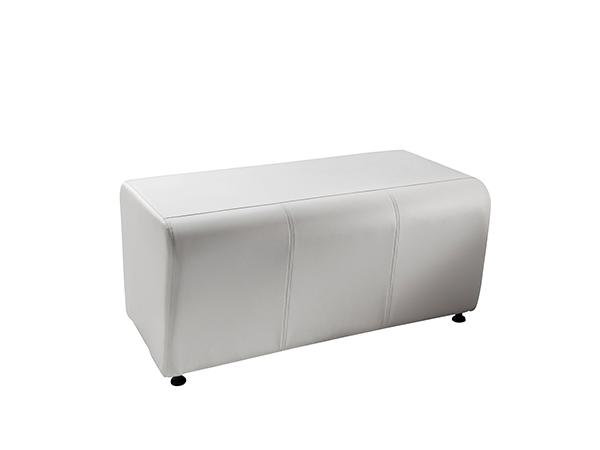 Half Bench Ottoman -- Trade Show Rental Furniture