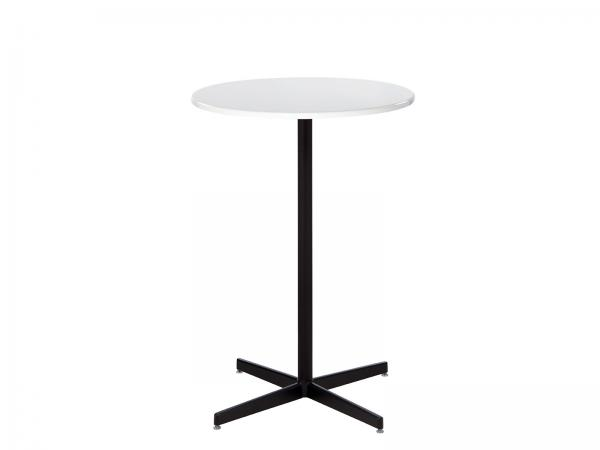Square Bar Table with Hydraulic Base  -- Trade Show Rental Furniture