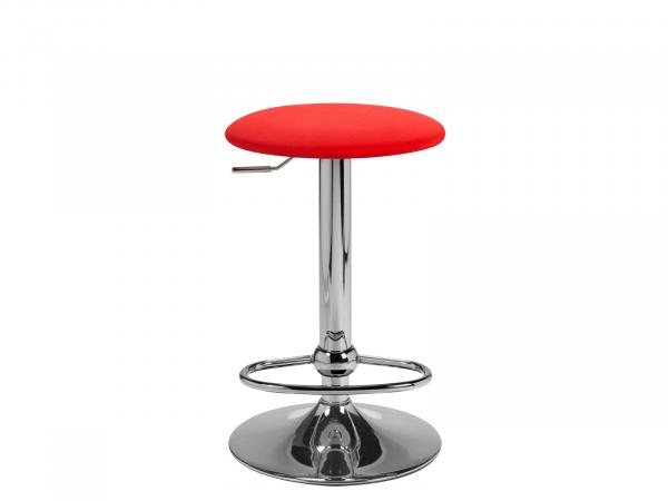 CEBS-019 | Red Barstool -- Trade Show Furniture Rental