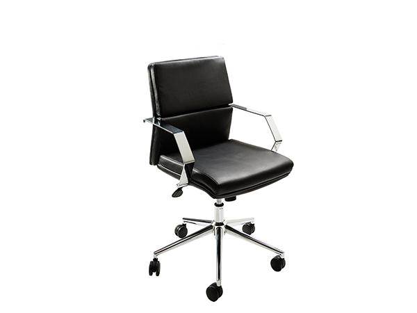 CEOC-011 (Black) | Pro Executive Chair -- Trade Show Rental Furniture
