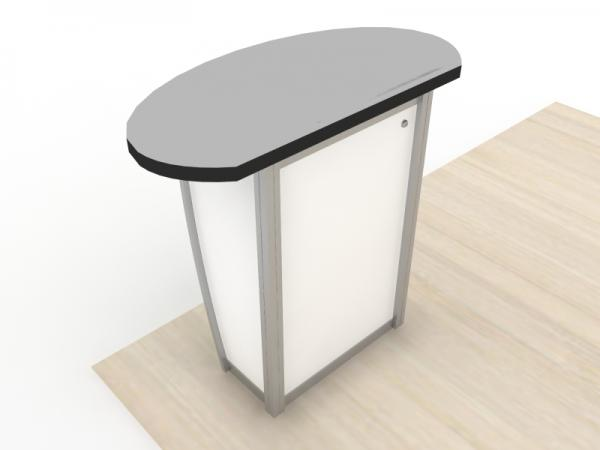MOD-1293 Modular Pedestal with Locking Storage -- Image 3