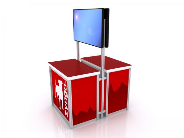 MOD-1562 Trade Show Monitor Stand -- Image 2
