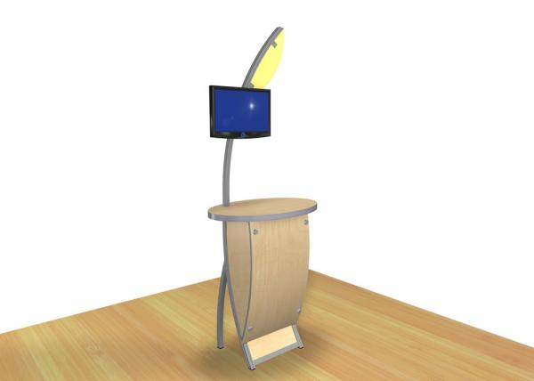 VK-1613 Trade Show Workstation or Kiosk