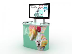 MOD-1246 Workstation/Kiosk for Trade Shows and Events -- Image 1