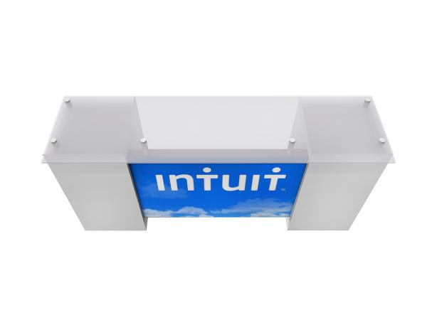 ECO-42C Sustainable Tradeshow Counter with Storage