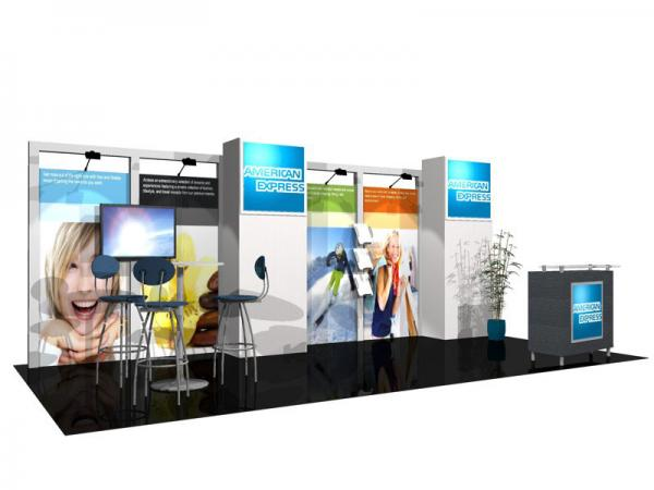 ECO-2034 Sustainable Tradeshow Display -- Image 1