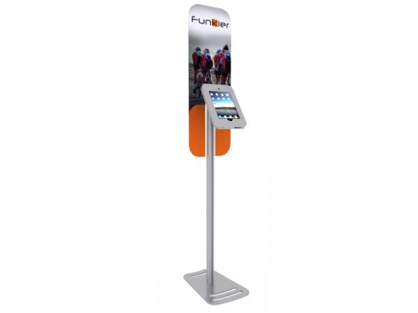 DM-1030 Portable iPad Kiosk with Graphics -- Image 1