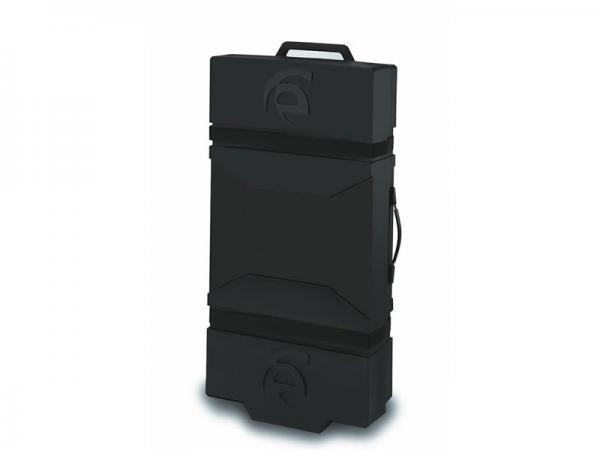 Optional LT-550 Roto-molded Case with Wheels and Die-cut Foam Jigging