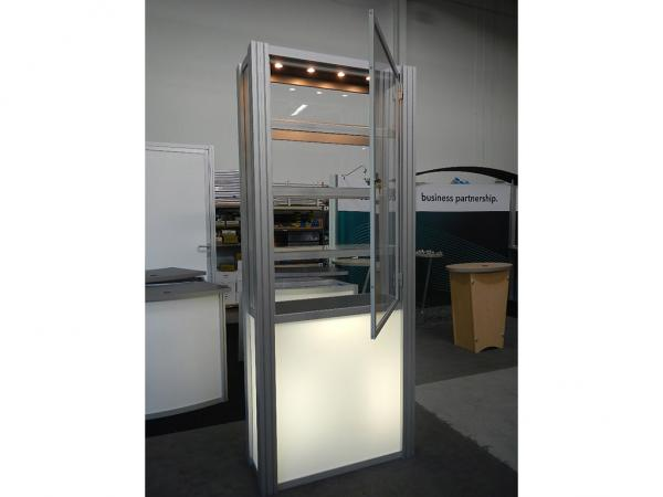 RE-500 Rental Display / Single Display Case -- Image 3