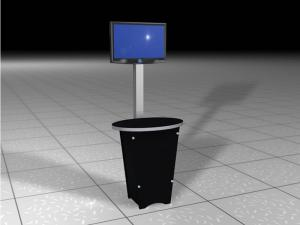 RE-1223 Rental Display Workstation / Kiosk -- Image 1