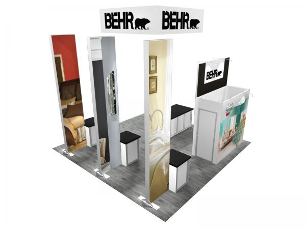 RE-9084 BEHR Trade Show Rental Exhibit -- Image 5