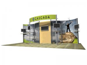 Cascada 10x20 Green Eco-Systems Display