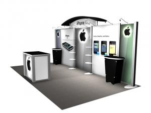 RE-2009 Rental Exhibit / 10� x 20� Inline Trade Show Display � Image 2