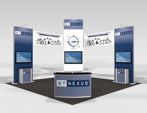 RE-9055 Trade Show Rental Exhibit -- Image 1