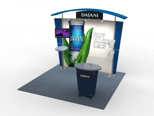 VK-1303 Trade Show Exhibit with Silicone Edge Graphics (SEG) -- Image 1