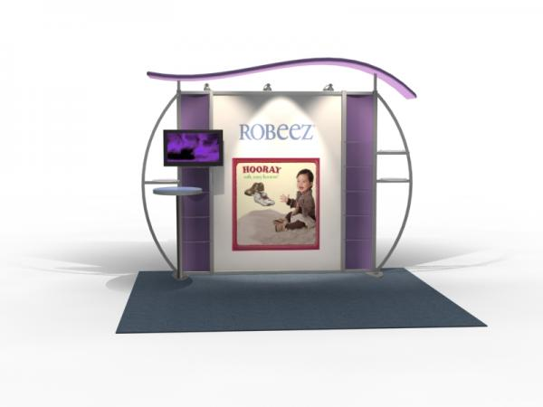 VK-1311 Trade Show Exhibit with Silicone Edge Graphics (SEG) -- Image 4