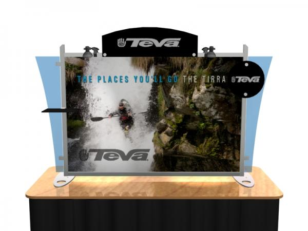 VK-1291 Portable Hybrid Trade Show Table Top Exhibit -- Image 2