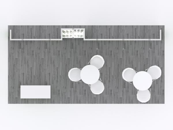 GK-2008 Modular Inline Exhibit -- Plan View